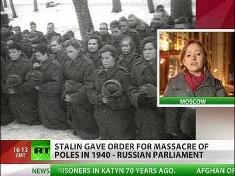 Truth Is Out: Katyn massacre carried out on Stalin's direct orders