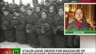Truth Is Out: Katyn massacre carried out on Stalin