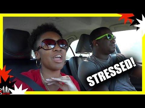 STRESSED!   BLACK FAMILY VLOGS