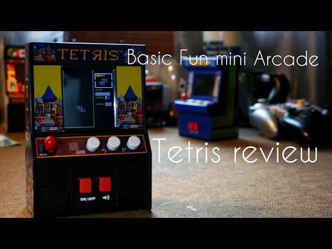 Basic Fun mini Tetris arcade review
