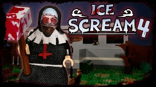 LEGO Мультфильм Мороженщик 4 - Horror Game  ce Scream