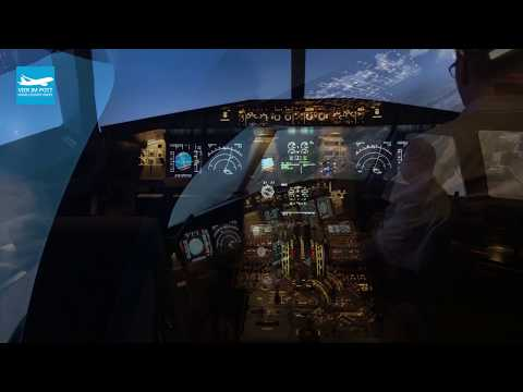 Testflight with our A320 Shell Professional - VIER IM POTT