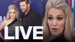 Carrie Underwood Talks Post-Baby Struggle At ACM Awards  | ET Canada LIVE