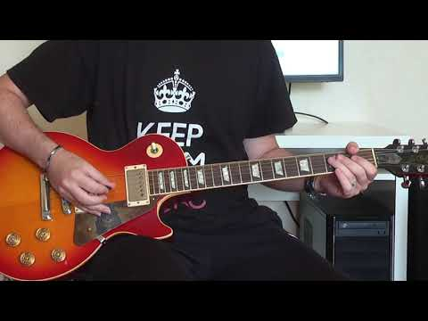 Slash & Myles Kennedy – Patience Live in Stoke (guitar cover)