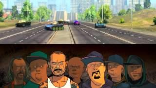 Ляпис Трубецкой - Танк (фан-видео)