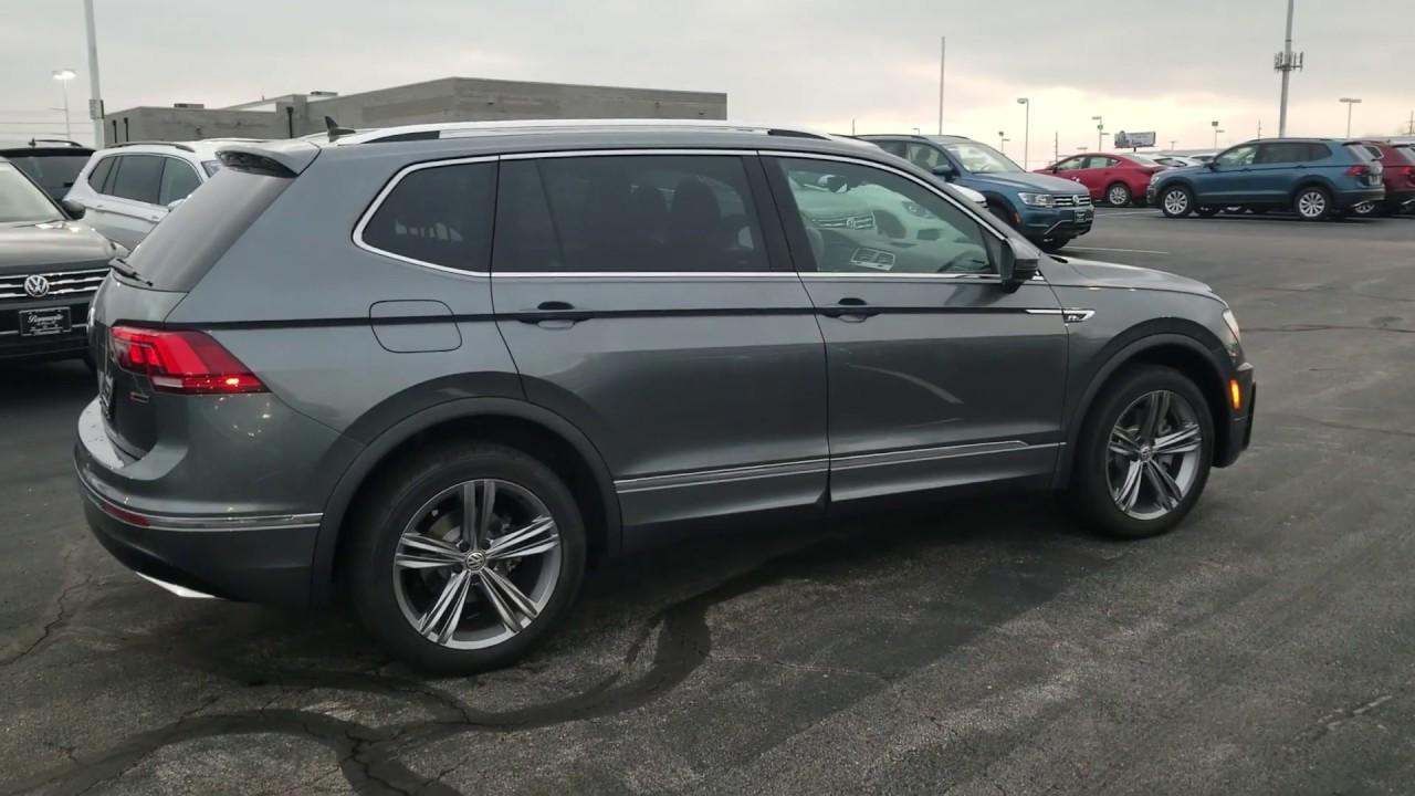 2019 VW Tiguan 2.0T SEL R-Line 4Motion w/ 3rd row seats - YouTube