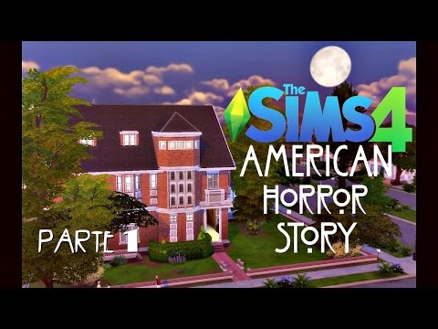 American Horror Story - MURDER HOUSE (PARTE 1) │ The Sims 4 (Speed Build)