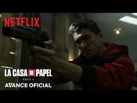 Netflix impacta con un nuevo adelanto de La casa de papel: Parte 4