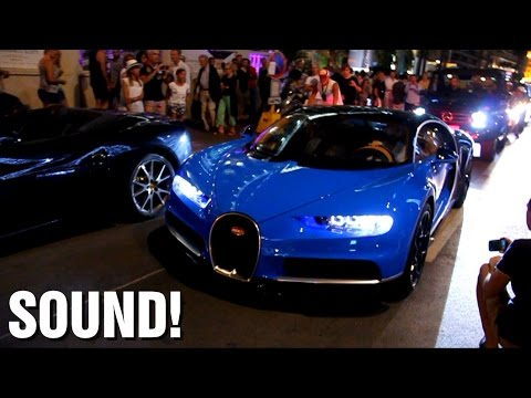 FIRST owned Bugatti Chiron SOUND in Cannes!!