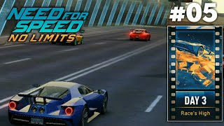 NFS: No Limits - Ford GT 2017 - Lights Camera Traction | Day 3 Event 1 - 7 #05