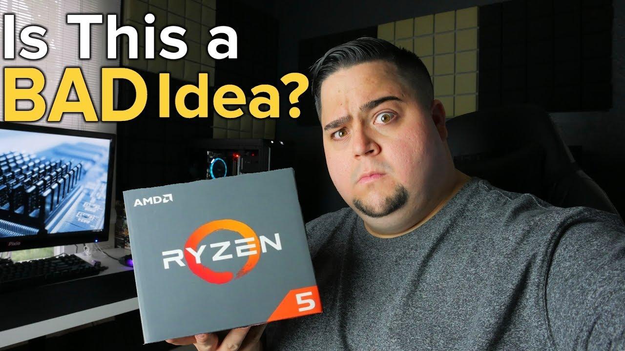 Does Ryzen 1400 BOTTLENECK the GTX 1080?