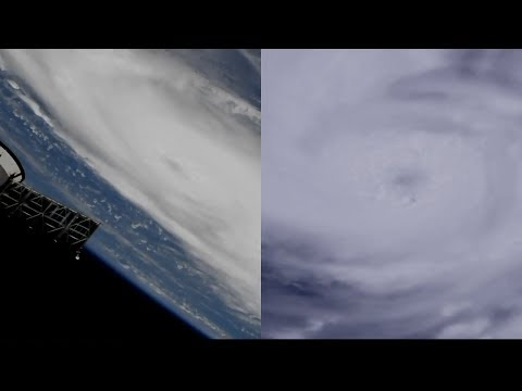 Hurricane Dorian Seen From The International Space Station
