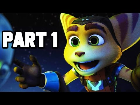 Ratchet and Clank Gameplay Walkthrough Part 1 - Intro + Mission 1 (PS4 1080p HD)