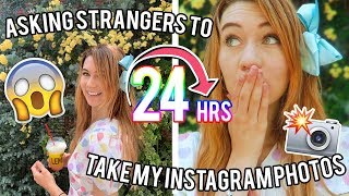 i had strangers take my instagram pics for 24 hrs