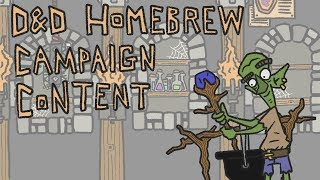 D&D Homebrew Campaign- Discussing it with a Pro Dungeon Master