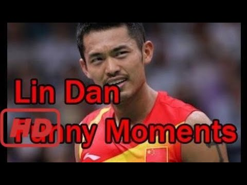Love Badminton | LIN DAN FUNNY MOMENTS Badminton (Challenge against himself, play without racket)
