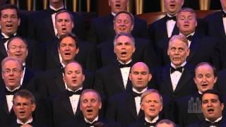 "Men of the Mormon Tabernacle Choir sing ""You Raise Me Up"""