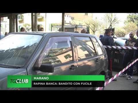 Marano, rapina alla Banca Credem di Corso Europa