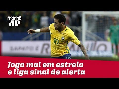 Seleção Brasileira Joga Mal Em Estreia E Liga Sinal De Alerta