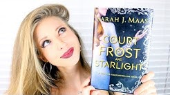 A COURT OF FROST AND STARLIGHT BY SARAH J MAAS | booktalk with XTINEMAY
