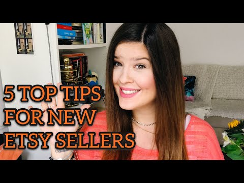 5 THINGS TO DO BEFORE YOU START SELLING ON ETSY (Tips for new Etsy sellers)