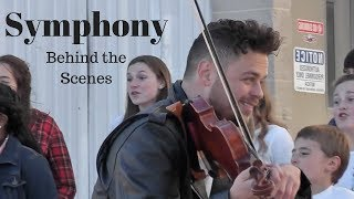 Clean Bandit - Symphony cover by Rob Landes with One Voice Children's Choir | Behind-the-Scenes