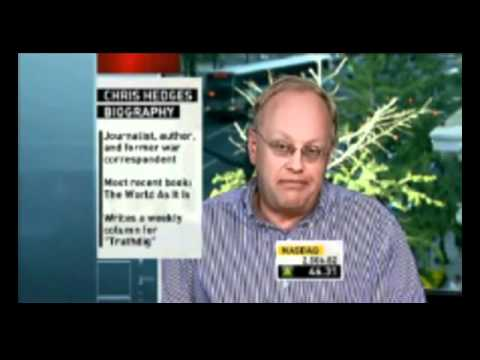Awesome! Chris Hedges supporting Occupy Wall St. Canada and outwitting Fox-News-like interviewer