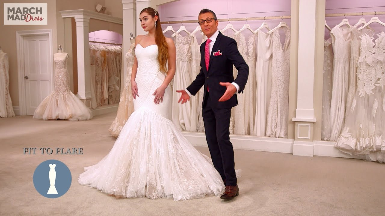 Fit and flare wedding dress uk 12