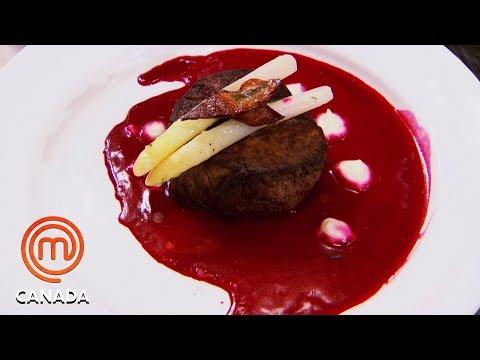Red & White Dish To Represent Canadian Flag  🇨🇦 | MasterChef Canada | MasterChef World
