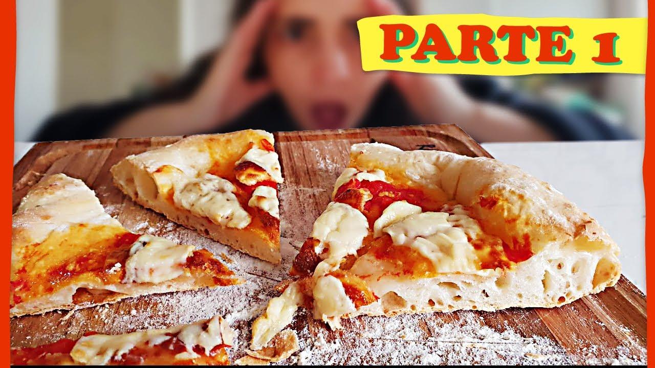 Pizza Italiana Sin Amasado La Mejor Masa De Pizza Cómo Hacer Pizza E07 Parte 1 Youtube