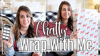 STORY TIME / Q & A :: GIFT WRAP WITH ME :: CHATTY CHRISTMAS WRAPPING 2019 + GET TO KNOW ME