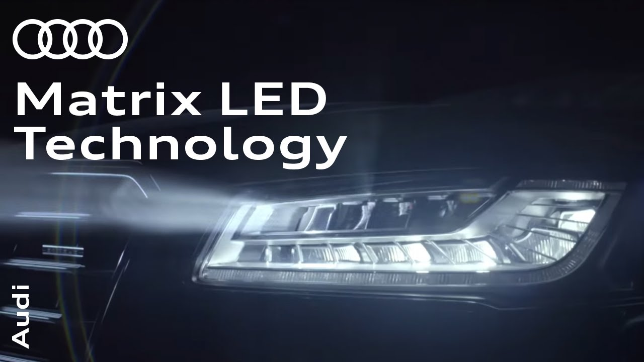 matrix led lys