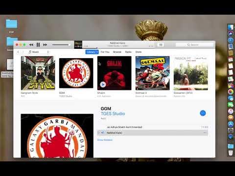 Merge Two Songs of Same Album in iTunes Mac   macOS High Sierra
