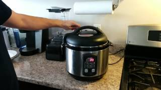 How to use a Pressure Cooker as a Rice Cooker - 8 minute Rice!