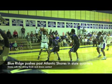 Blue Ridge pushes past Atlantic Shores in state quarters