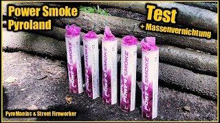 Pyroland Power Smoke Pink + Massenvernichtung | PyroManiac & Street Fireworker