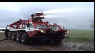 супер пожежна машина