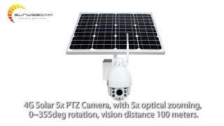 SUNWEBCAM --- SOLAR SECURITY CAMERA