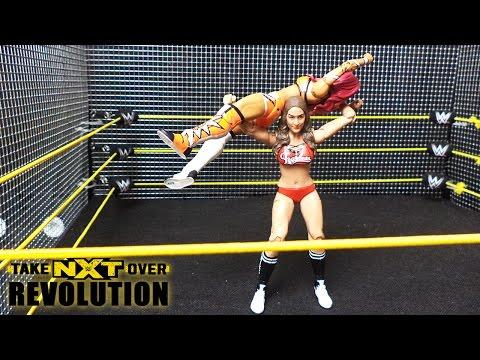 Nikki Bella vs. Sasha Banks - Steel Cage Match: WWE NXT TakeOver: Revolution