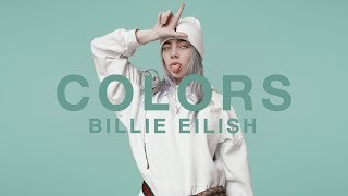 billie eilish   idontwannabeyouanymore   a colors show