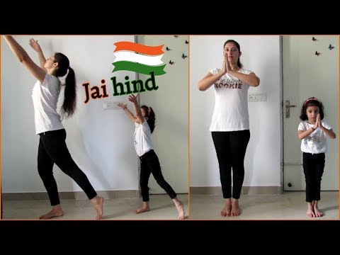 Easy dance steps for kids | PATRIOTIC DANCE | AE WATAN | RAAZI | Aanya Joshi