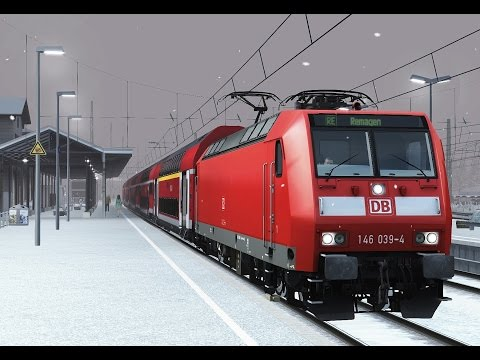 Train Simulator: Koblenz Hbf - Remagen with DB BR146