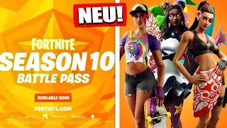 The first Fortnite Season 10 info! | Battle Pass Skins & New Graphics - Fortnite Battle Royale