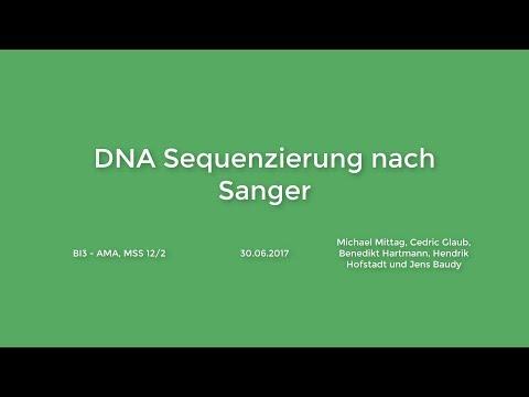 DNA Sequenzierung nach Frederick Sanger (Stop Motion)