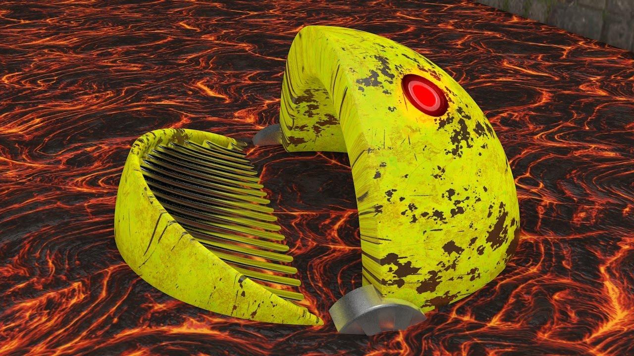 Pacman vs Robot Pacman - The Final Battle