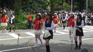 ザよこはまパレード 2010 ◆[10-1] 法政大学女子高等学校バトントワラー部
