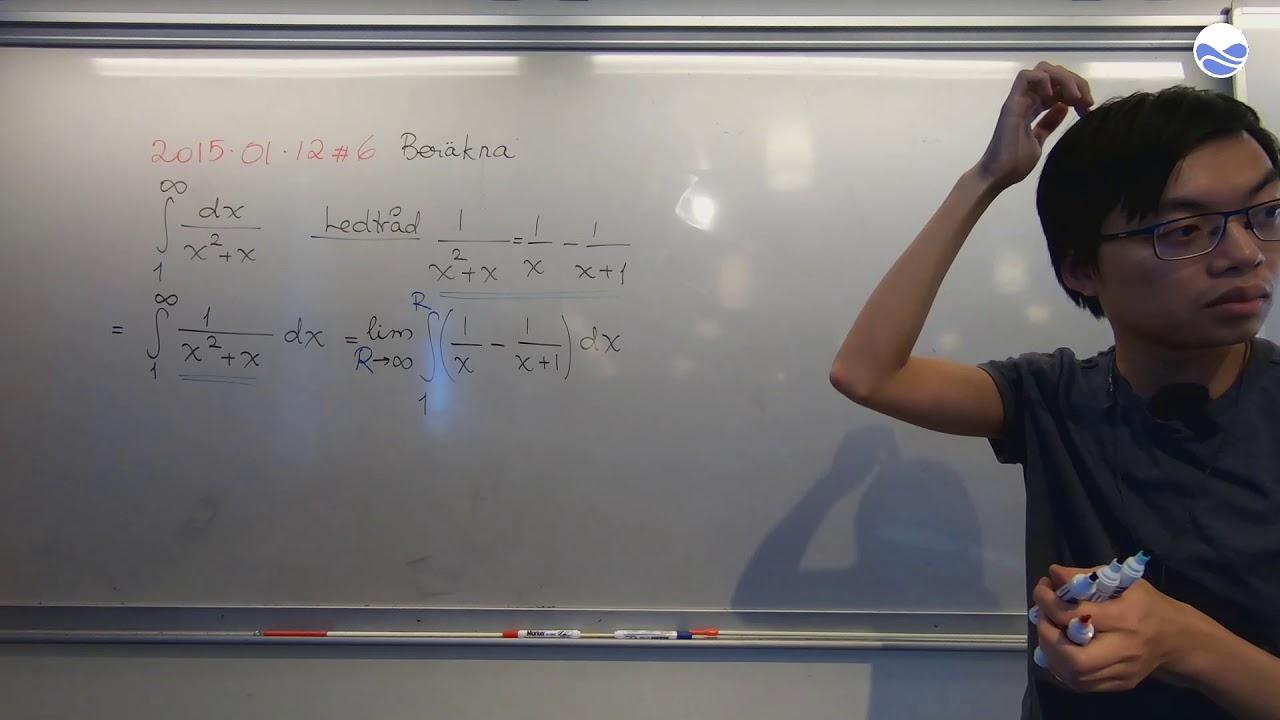 Crash Course i Envariabelanalys (20) - Generaliserade integraler