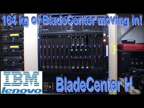IBM BladeCenter H moves into My Playhouse - 167