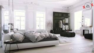 Home Decoration Styles for Modern Homes  Modern Black And White Cool Rooms