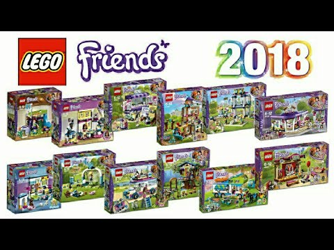 LEGO Friends 2018 set pictures - YouTube